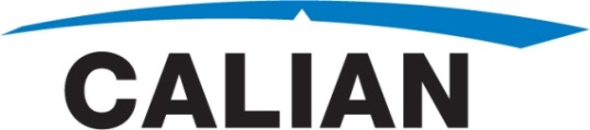 CALIAN TO HOLD CONFERENCE CALL TO PROVIDE MANAGEMENT UPDATE