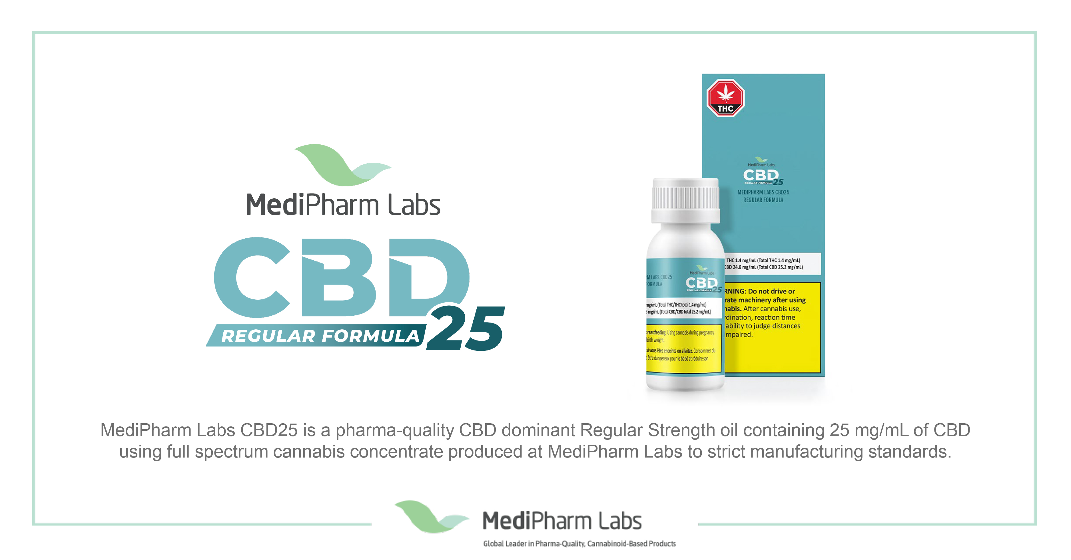 MediPharm Labs Launches New Line of High-Quality Branded Products Across Canada