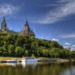 Canadian Parliament - river - depositphotos
