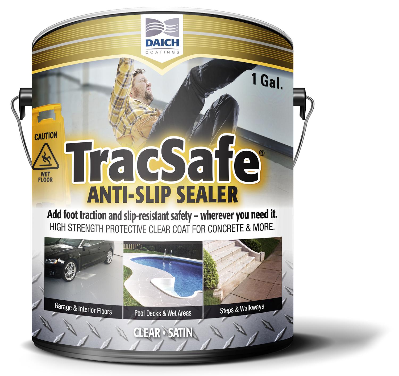 New DIY TracSafe® Anti-Slip Sealer Provides an Instant Safety Solution