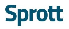 SPROTT PROVIDES AUM UPDATE AND ANNOUNCES AMENDED NORMAL COURSE ISSUER BID