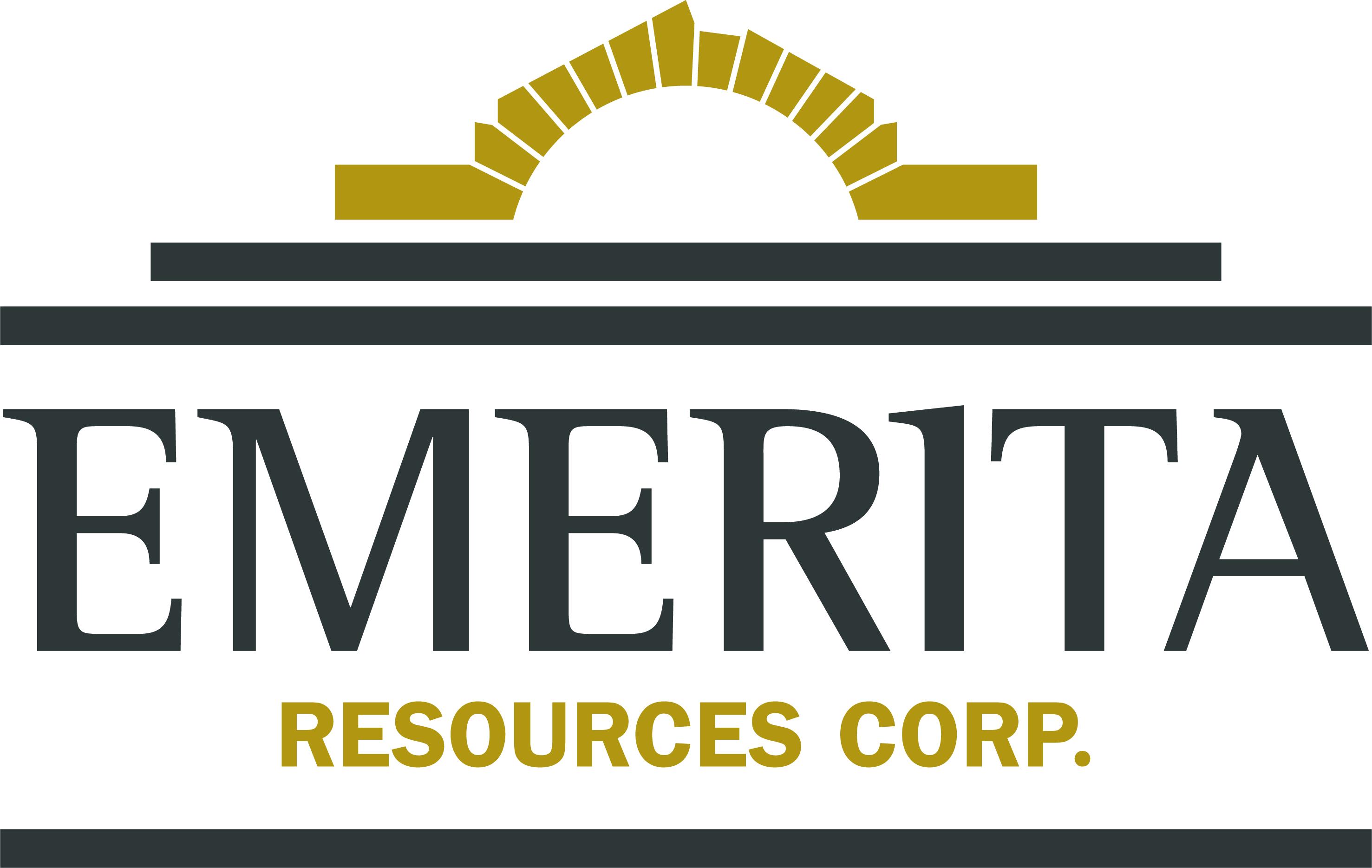 Emerita Resources Provides Corporate Update