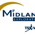 Midland Begins Its First Exploration Program on Lewis, Northwest of Iamgold-Vanstar's Nelligan Project