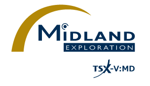 Midland Begins Its First Exploration Program on Lewis, Northwest of Iamgold-Vanstar's Nelligan Project