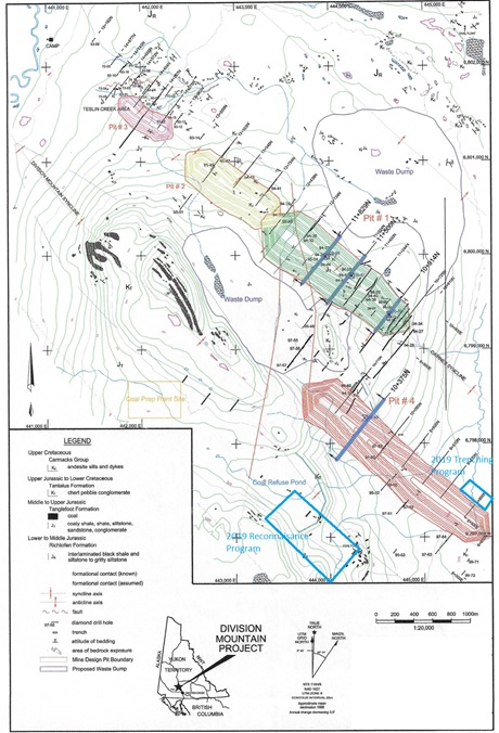 Yukoterre Announces Results From its Phase 1 Exploration Program at the Division Mountain Property