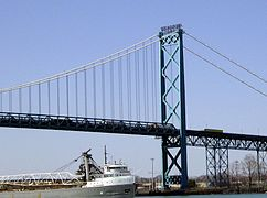 Ambassador Bridge -day