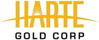 Harte Gold Announces Signing of Financing Agreement and Closing of US$9