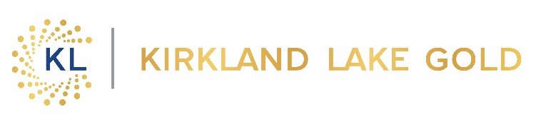 Kirkland Lake Announces Results of Annual General and Special Meeting of Shareholders
