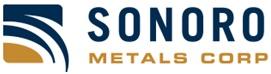 Sonoro Metals Announces $5