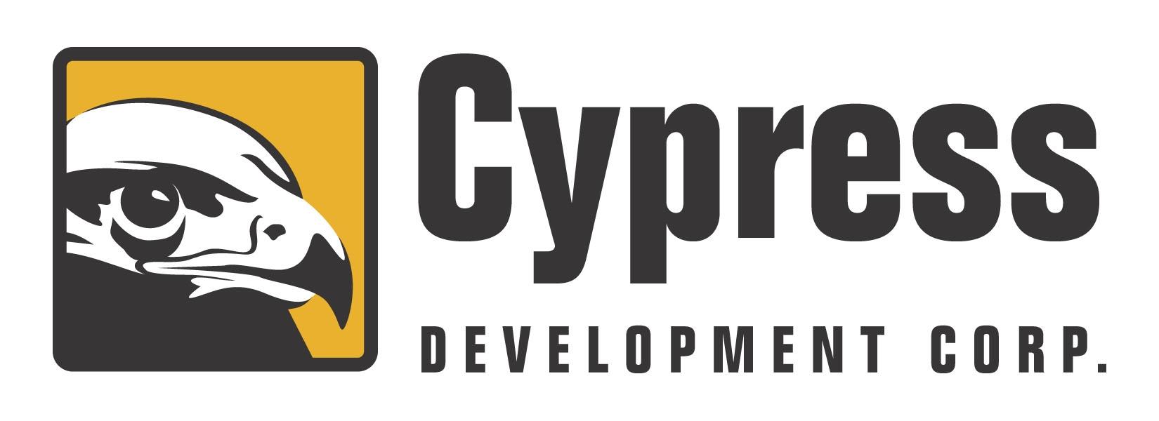 Cypress Development Grants Incentive Stock Options