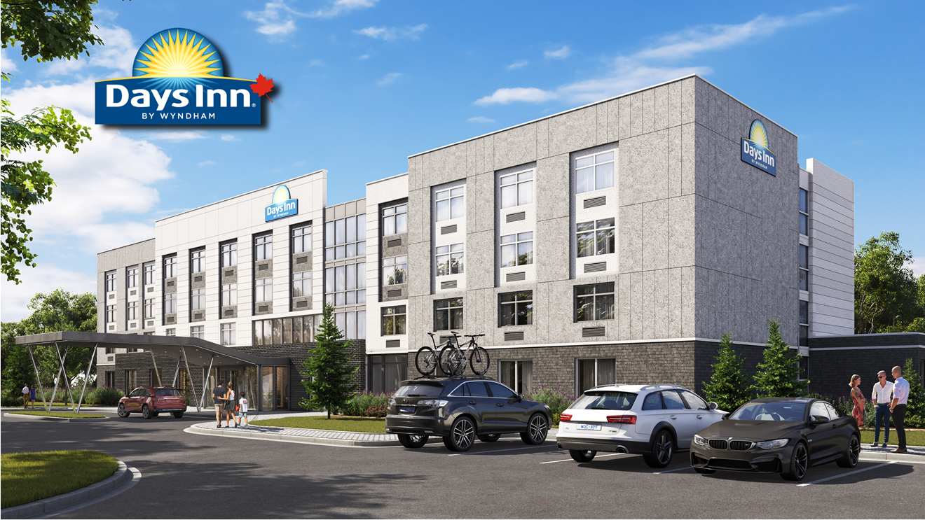 New Prototype Unveiled for the Days Inn by Wyndham Brand in Canada