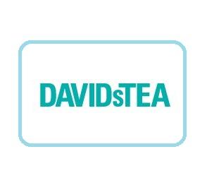 DavidsTea white logo