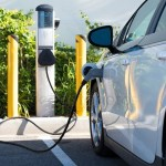 Electric car - charging -