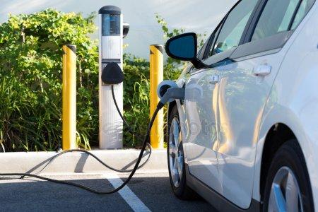 Electric car - charging -