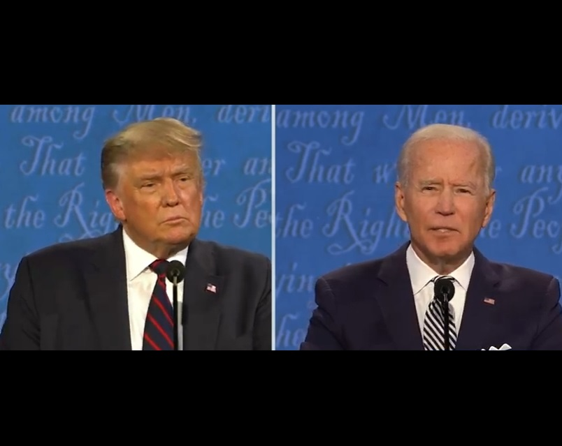 Trump - Biden debate Sept 29 2020