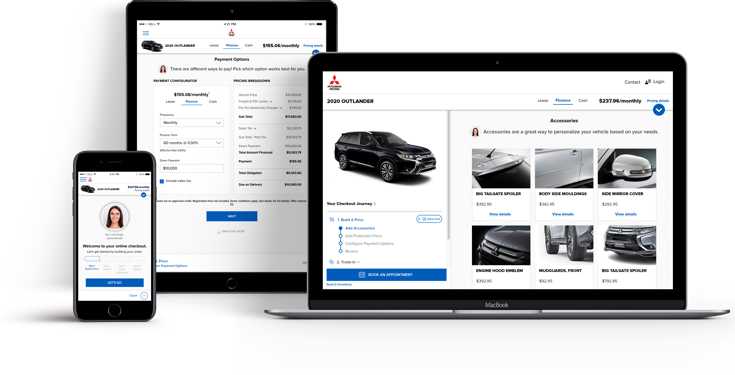 Mitsubishi Motors North America includes Motoinsight as a certified digital retailing provider
