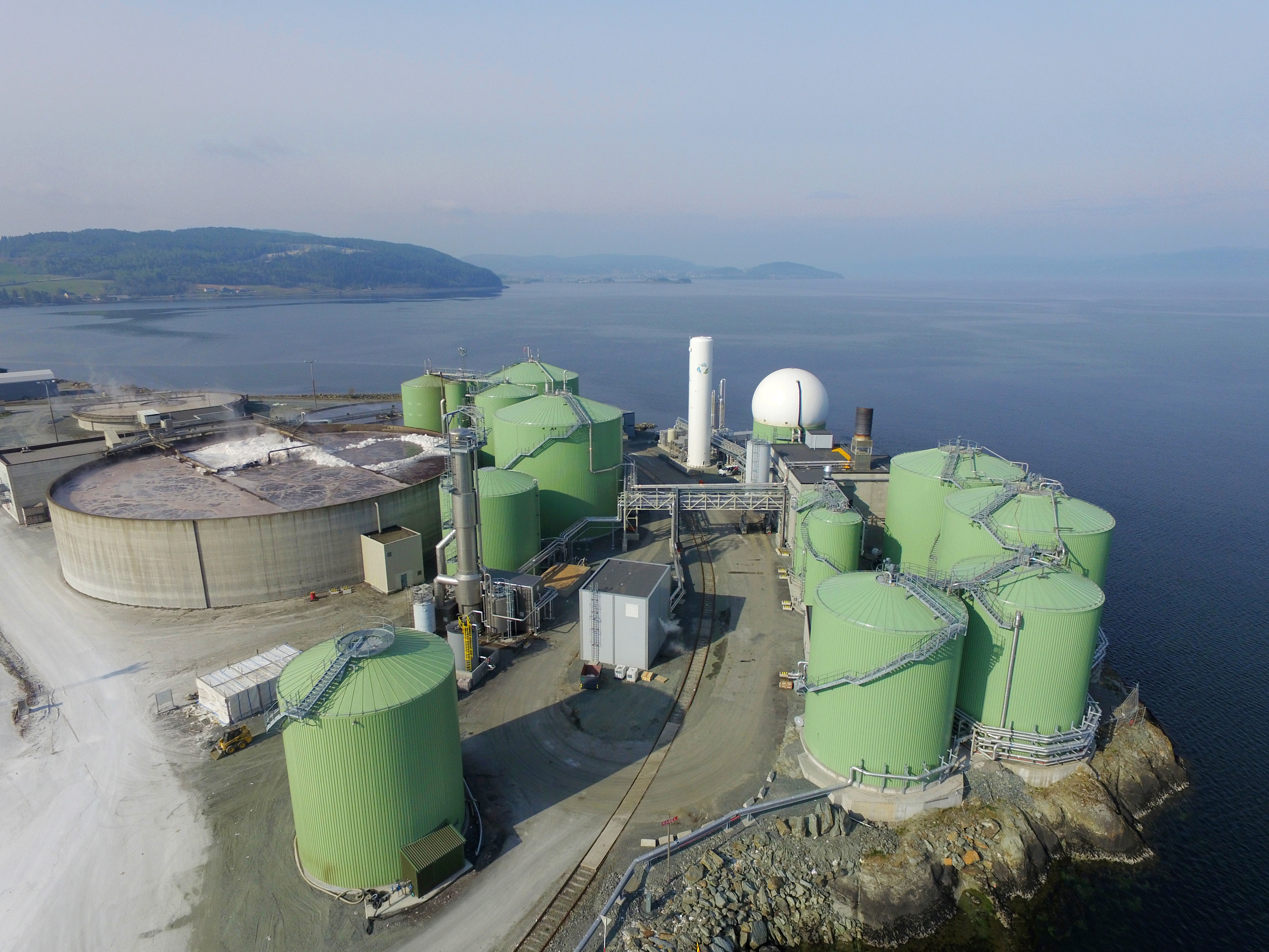 ANDION PARTNERS WITH BIOKRAFT TO EXPAND PRODUCTION AT WORLD'S LARGEST LIQUID BIOGAS FUEL FACTORY