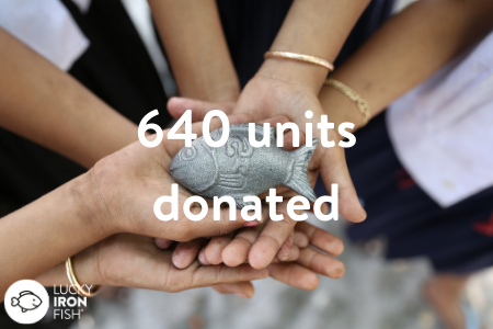 Lucky Iron Fish and DivaCup Donate to Local Organizations Working to Achieve Menstrual Equity