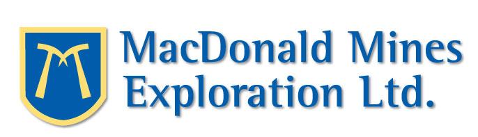 CORRECTION -- MacDonald Mines Exploration Ltd.