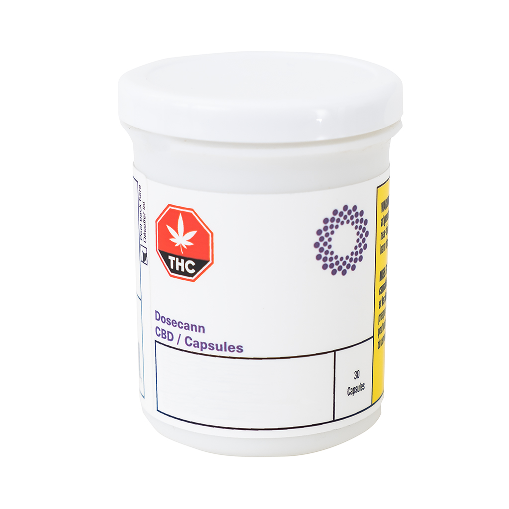 High-Potency, Plant-Based Wellness: Dosecann Introduces Cannabis Capsules With Omega-Rich Ahiflower® Oil, A Truly Differentiated Product for the Wellness Consumer