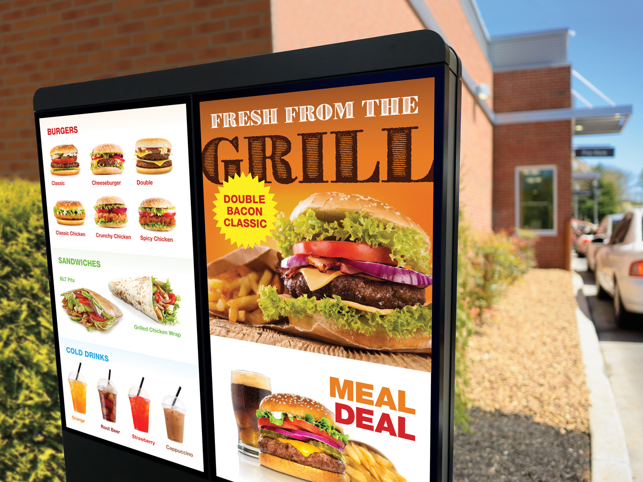 Top Quick Service Restaurants Go Digital at the Drive-thru with Melitron and Samsung Canada