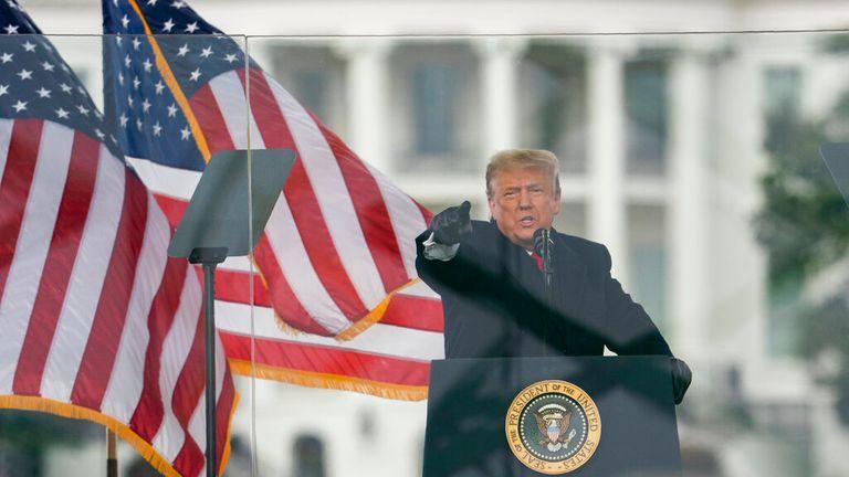 Trump - Capitol riots