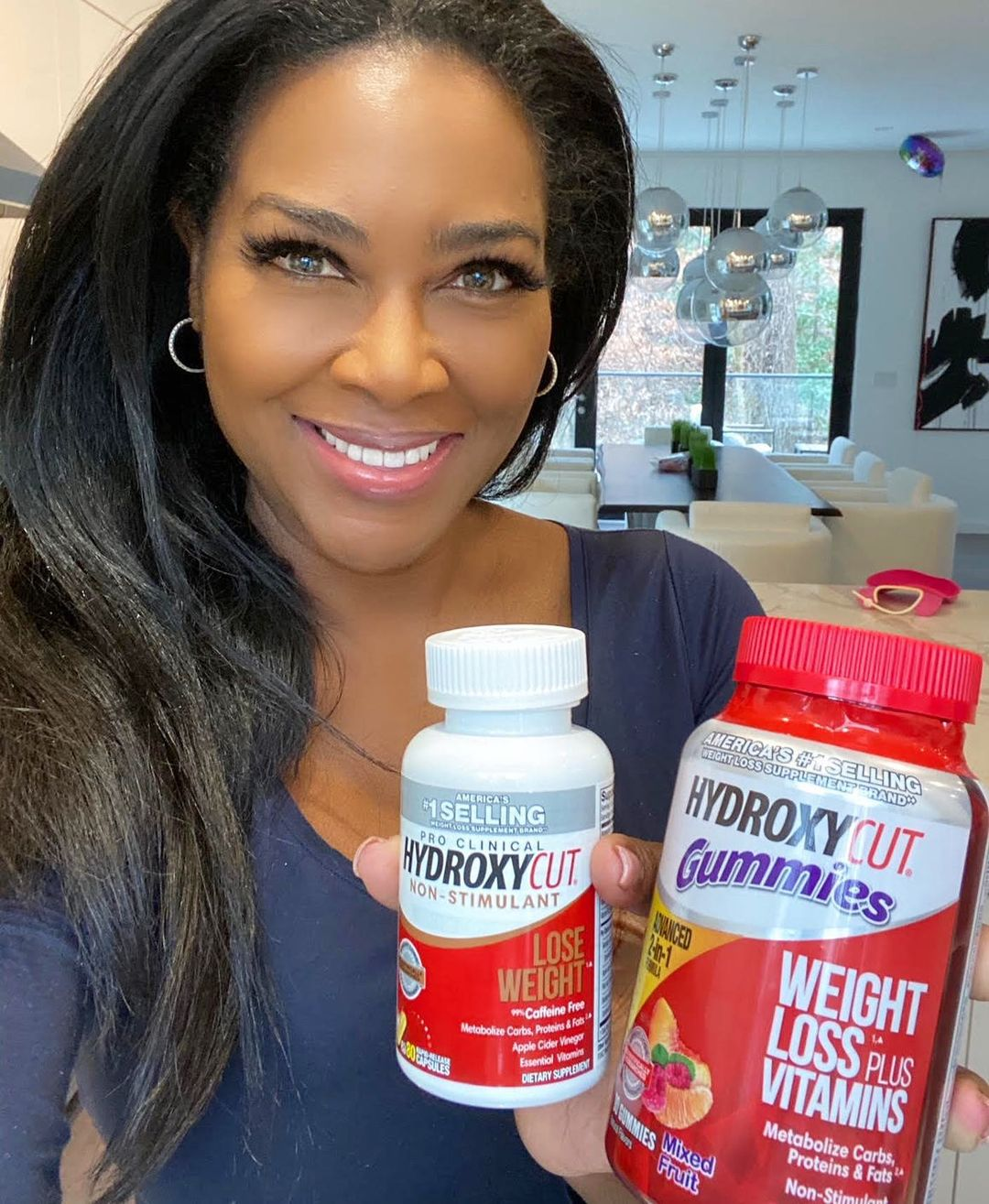 ACTOR and TV PERSONALITY KENYA MOORE PARTNERS WITH HYDROXYCUT FOR A 12-WEEK TRANSFORMATION