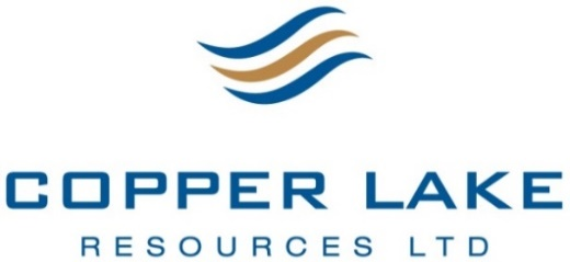 Copper Lake Resources Intersects 6