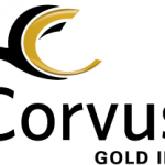 Corvus Gold Establishes ATM Facility To Be Used Over 12 Months at the Company's Discretion Through the Nasdaq