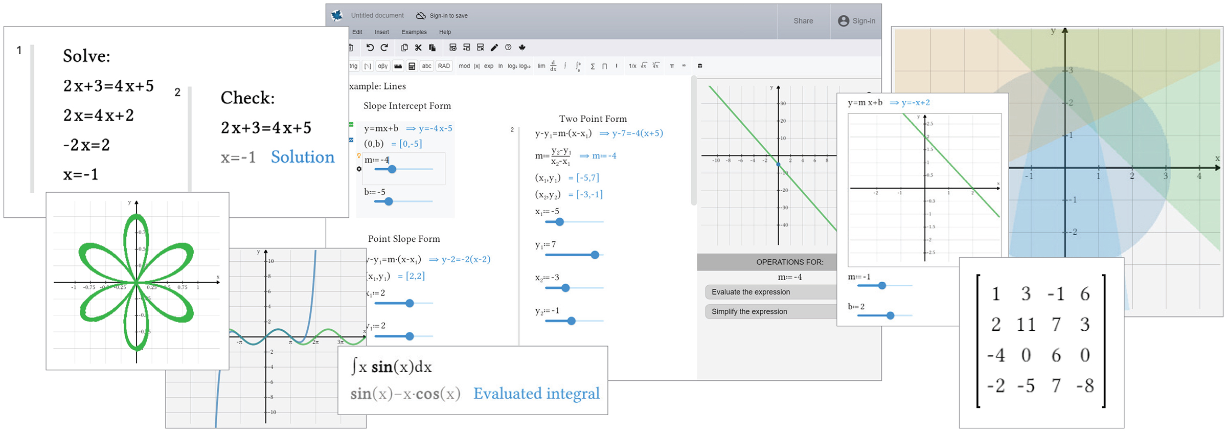 Maplesoft™ launches new online math environment dedicated to teaching and learning