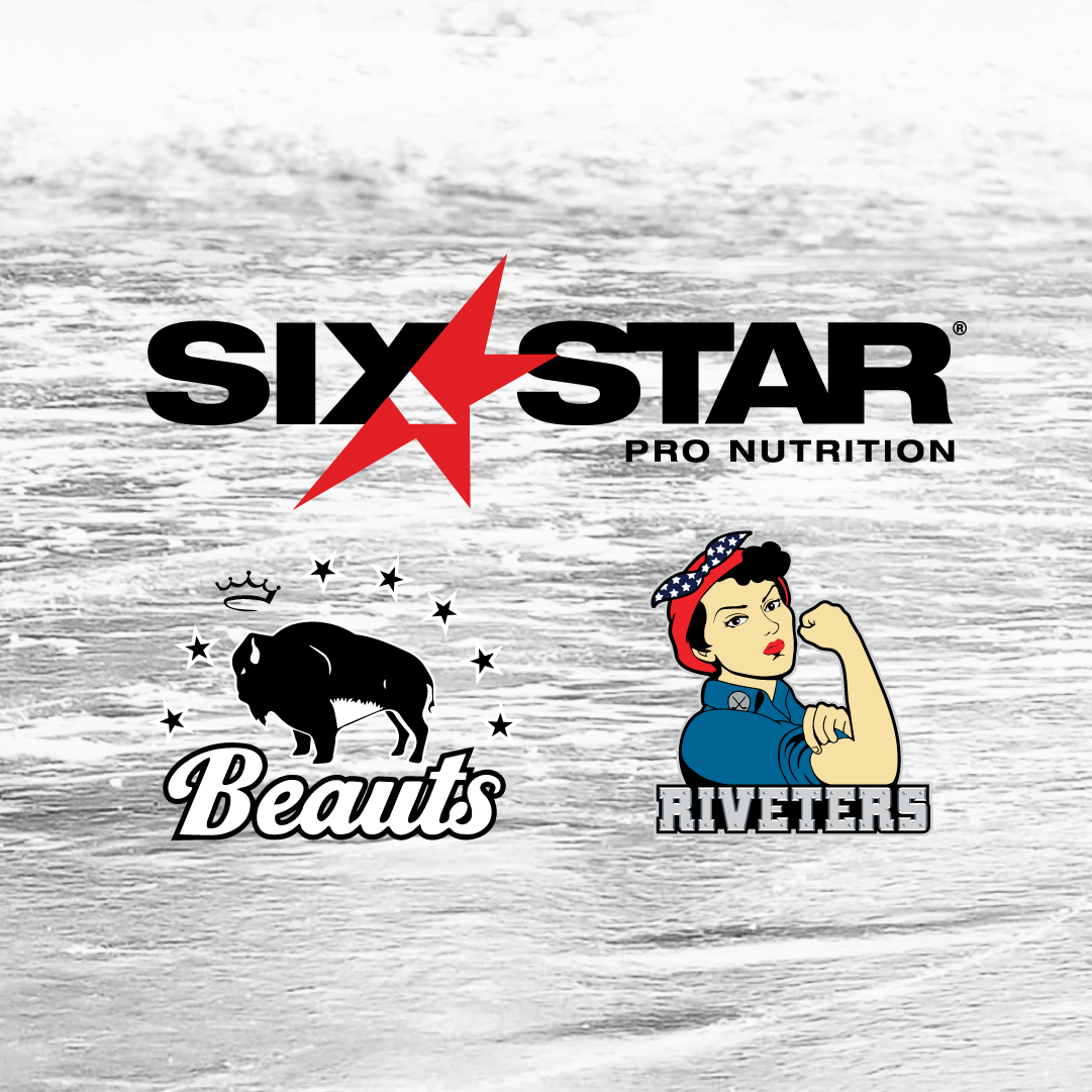 Six Star Pro Nutrition Partners with the Buffalo Beauts and Metropolitan Riveters as the Official Protein & Pre-Workout Supplement for the NWHL 2021 Season