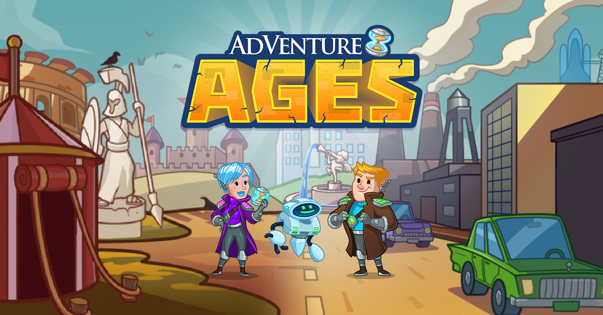 Hyper Hippo Blasts Through Time With New Idle Game: AdVenture Ages