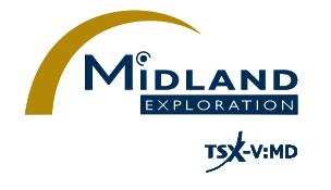 Midland Identifies a New Syenite-Associated Gold System on Samson Southeast of Wallbridge's Fenelon/Tabasco Deposit