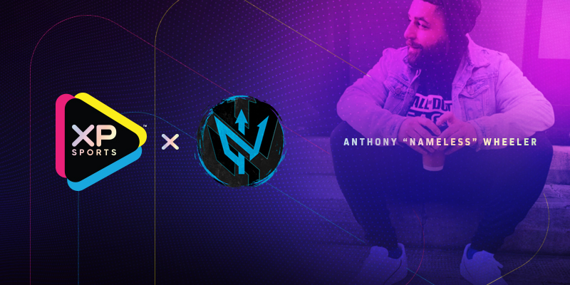 """XP Sports™ Launches Partnership With Former Pro Gamer and Current Analyst Anthony """"NAMELESS"""" Wheeler"""