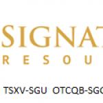 Signature Resources Announces $1