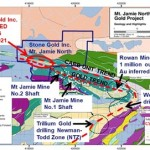 Stone Gold commences drilling on the Mt