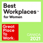Xperigo honoured as a 2021 Best Workplaces™ for Women!