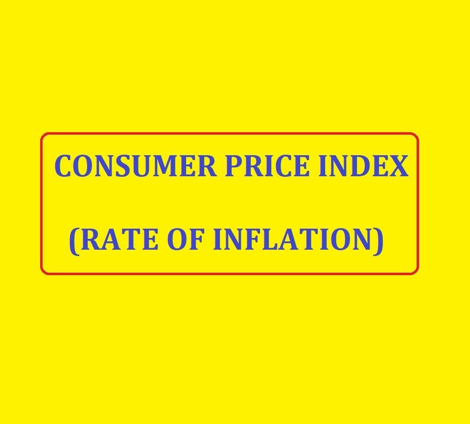 Consumer Price Index - inflation