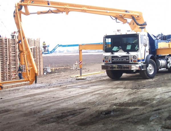 A & B Concrete Pumping (2007) Ltd.
