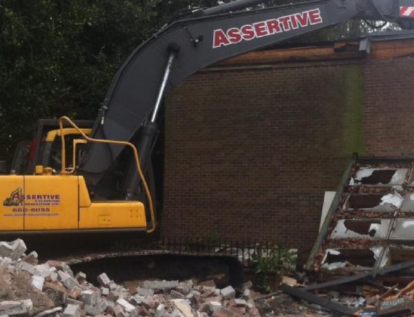 Assertive Excavating & Demolition
