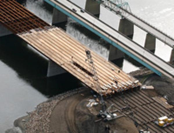 Athabasca River Bridge