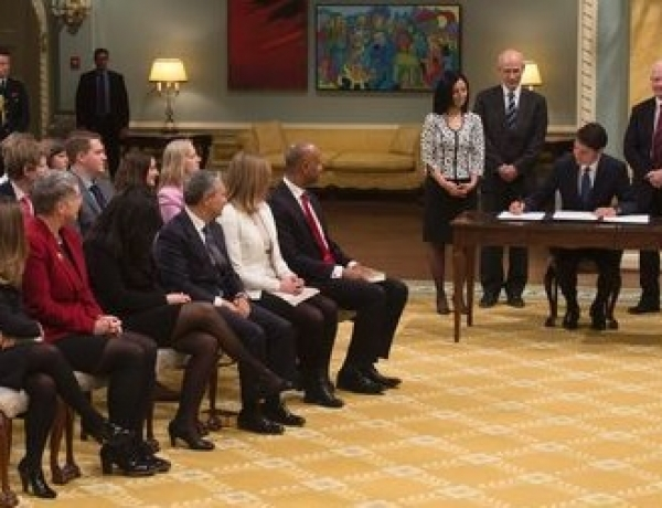 Trudeau Cabinet Shuffle