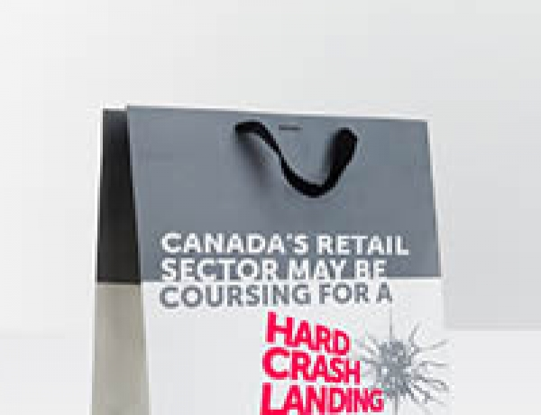 Canada's Retail Sector May Be Coursing for a Hard Crash Landing