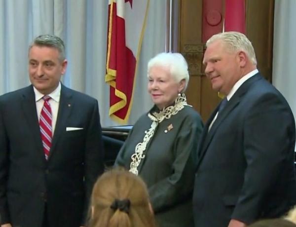 Ontario Cabinet Shuffle