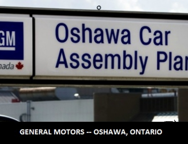 500 New Jobs for GM Oshawa