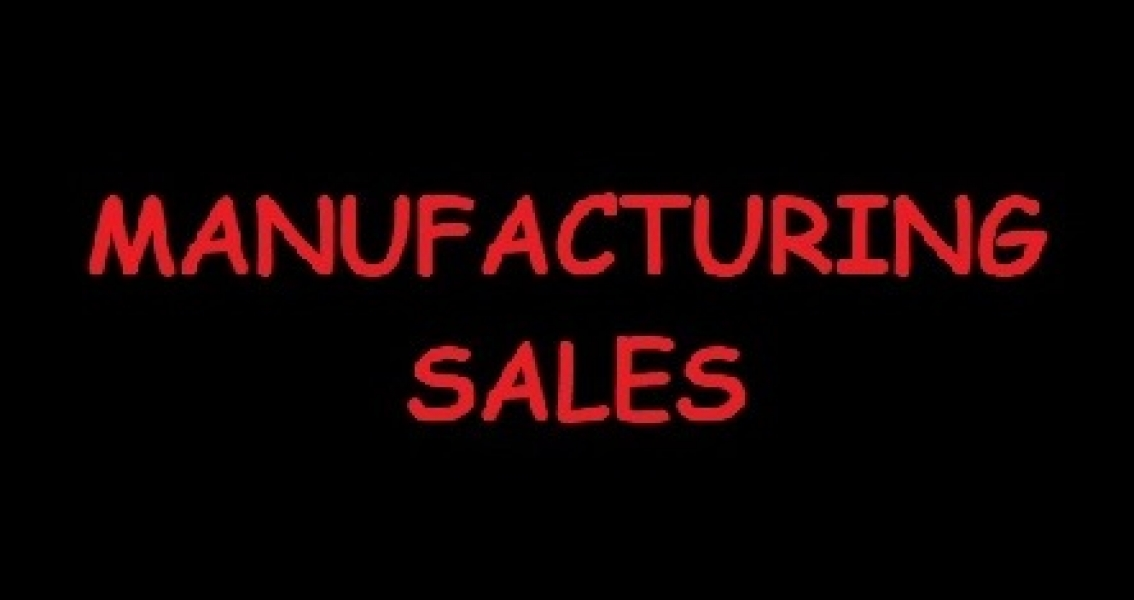 Manufacturing Sales Up