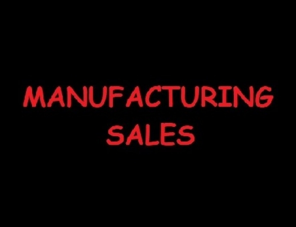 Manufacturing Sales Down 0.1%