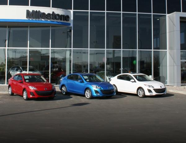 Milestone Mazda