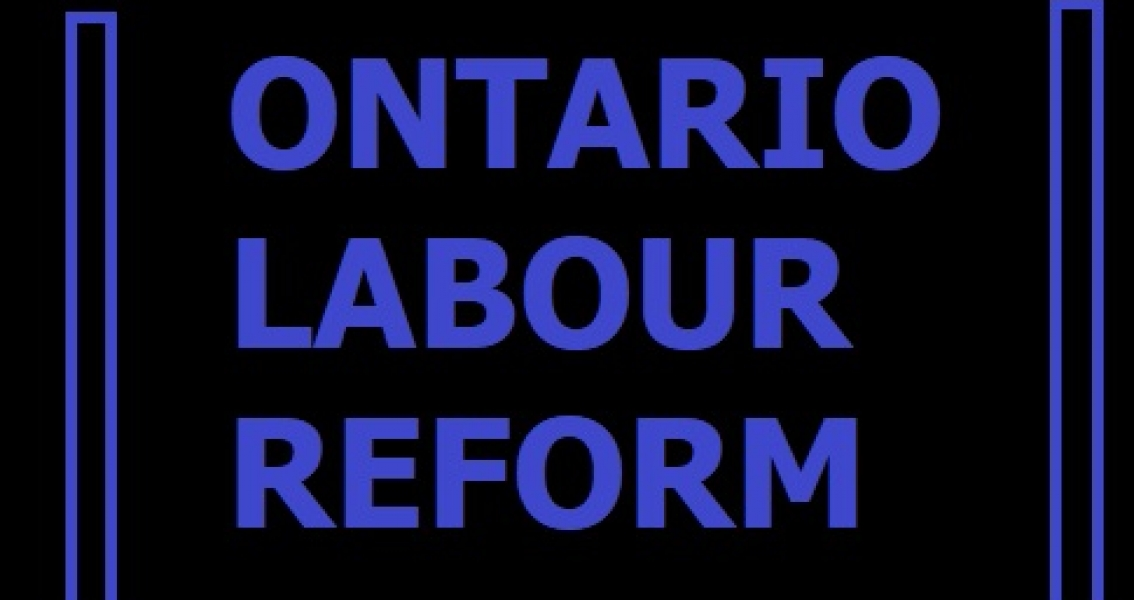 Ford to Scrap Labour Reform