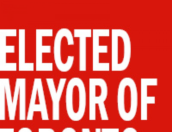 The Gravy Train's Final Stop – Rob Ford Elected Mayor of Toronto